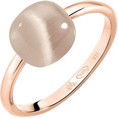 Morellato Růžově zlacený prsten Gemma SAKK87 (Obvod 58 mm) stříbro 925/1000