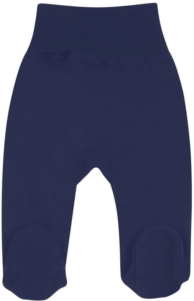 Levně Nini dívčí polodupačky z organické bavlny ABN-2588 tmavě modrá 68