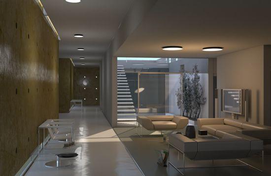 Immax NEO PLANO Smart stropní svítidlo D30cm 20W bílé Zigbee 3.0