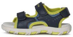 Geox fantovski sandali JR SANDAL PIANETA J1564A 015BU C0749, 28, temno modri