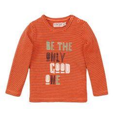 Dirkje VD0232 fantovska majica s črtami, 56, oranžna