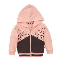 Dirkje dívčí mikina s kapucí VD0301A 86 růžová