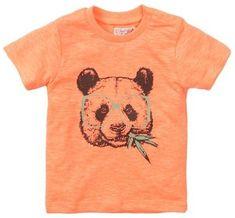 Dirkje VD0222 fantovska majica Neon panda, 74, oranžna