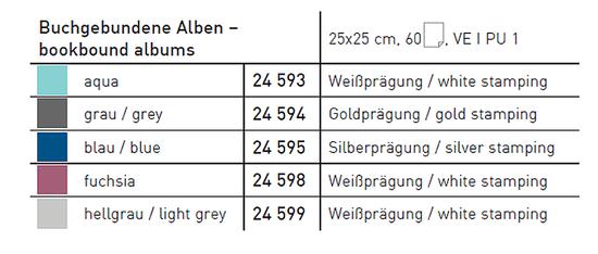 Goldbuch LINUM 2.0 GREY ALBUM P60 st. 25x25