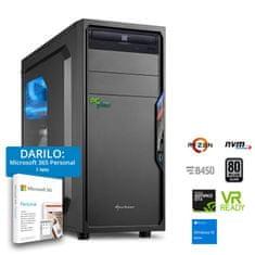 PCplus Gamer namizni računalnik (141548) + DARILO: 1 leto Microsoft 365 Personal
