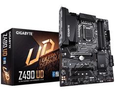 Gigabyte Z490 UD osnovna plošča, LGA1200, DDR4, USB 3.2 Gen 2, ATX