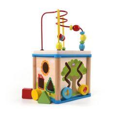 Tark otroška igrača kocka, 5-delna