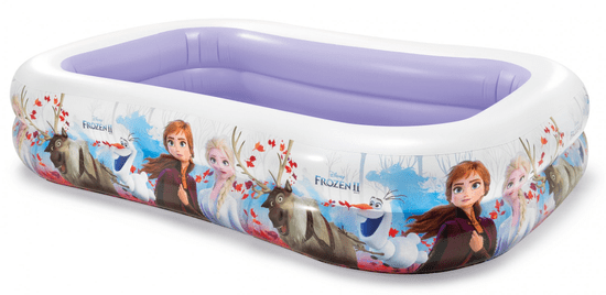 Intex napihljiv družinski bazen Frozen