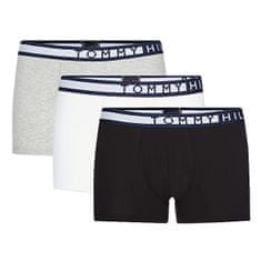 Tommy Hilfiger 3 PACK - férfi boxeralsó Pvhblack/Pvhwhite/Greyhtr (Méret S)