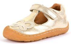 Froddo G2140054 dekliški usnjeni sandali, 21, zlati