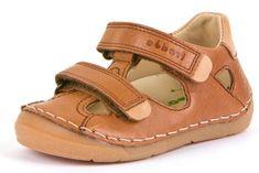 Froddo G2150128-3 fantovski usnjeni sandali, 19, rjavi