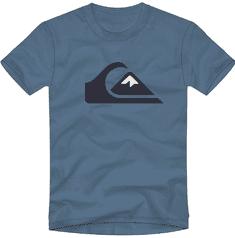 Quiksilver chlapecké tričko Comp logo ss youth EQBZT04324-BMN0 L modrá