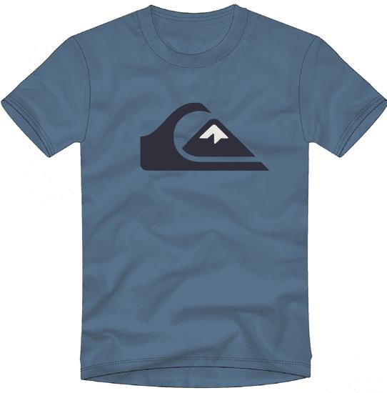 Quiksilver chlapecké tričko Comp logo ss youth EQBZT04324-BMN0
