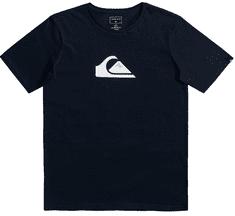 Quiksilver chlapecké tričko Comp logo ss youth EQBZT04324-BYJ0 S černá