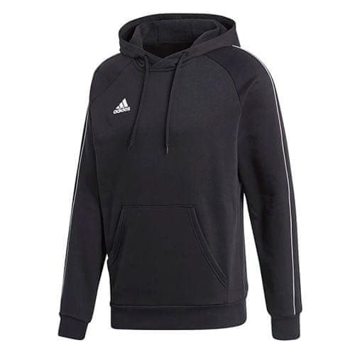 Adidas CORE18 HOODY ČRNO / BELA | L, SS18