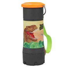 Dino World Príručné svietidlo ASST, T-Rex, čierno-oranžové