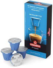 Covim kapsle Minuetto bezkofeinové pro Nespresso 10ks