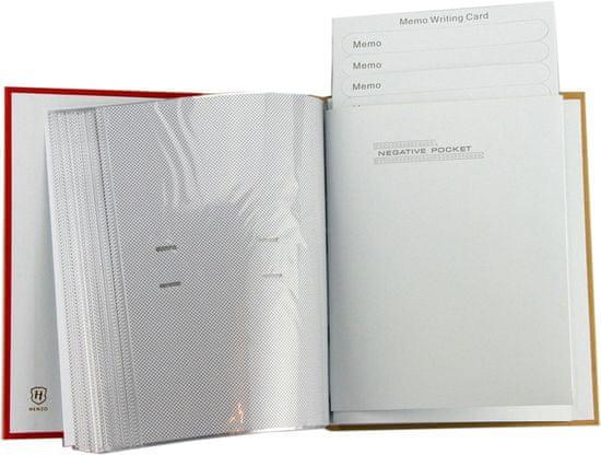Henzo Memo foto album, 200 slik 10x15, z žepki 50206.09