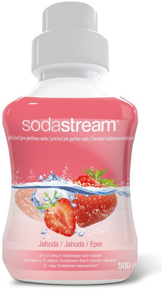 SodaStream Příchuť JAHODA 500ml
