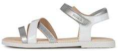 Geox sandały dziewczęce SANDAL KARLY J5235D 002BJ C1000, 24 białe
