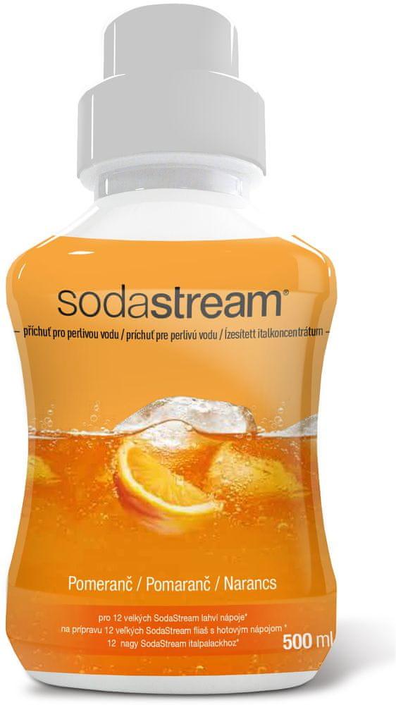 SodaStream Příchuť POMERANČ 500ml
