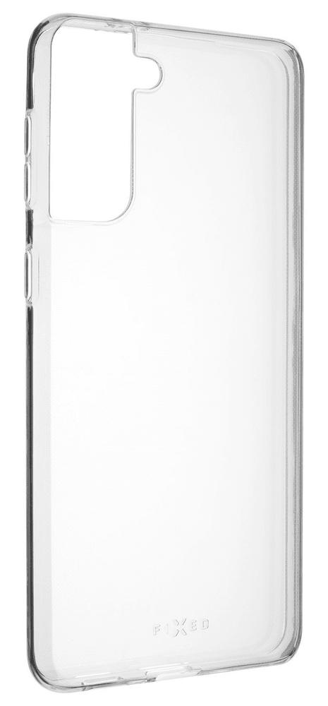 FIXED Ultratenké TPU gelové pouzdro Skin pro Samsung Galaxy S21+, 0,6 mm FIXTCS-654, čiré