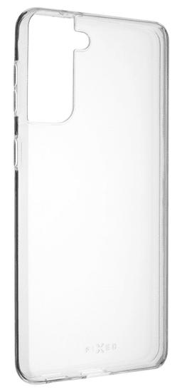 FIXED Ultratenké TPU gélové púzdro Skin pre Samsung Galaxy S21+, 0,6 mm FIXTCS-654, číre