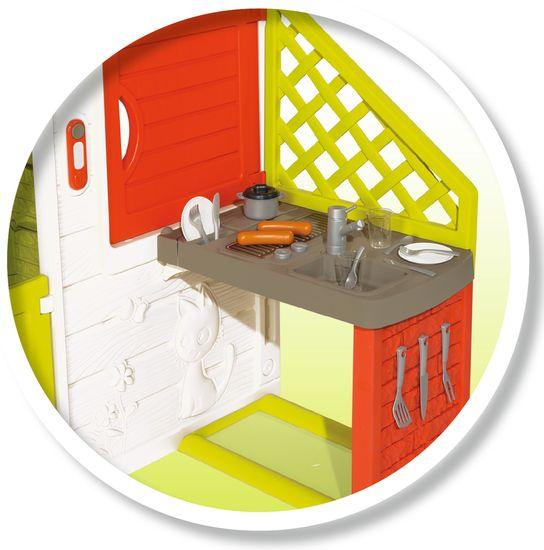 Smoby Neo Friends House hiša s kuhinjo, razširljiva