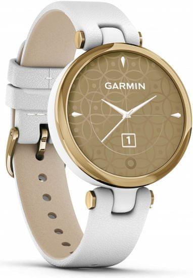 Garmin Zegarek LILY Classic, Italian Leather, Gold/White