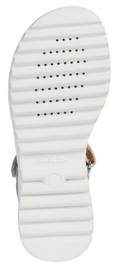 Geox Sandały dziewczęce SANDAL CORALIE GIR J926EA 0EWNF C1007