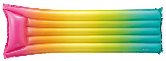Intex 58721 napihljiva blazina, mavrična