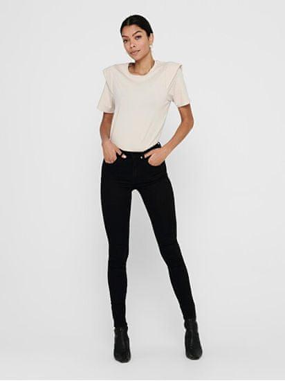 Jacqueline de Yong JDYNEWNIKKI LIFE Skinny Fit ženske kavbojke 15208239 Black Denim