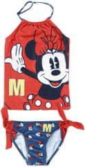 Disney Minnie 2200005034 kétrészes lány fürdőruha, 98, piros