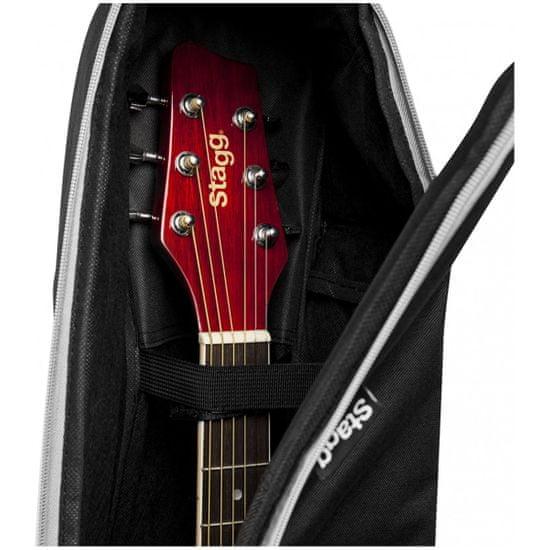 Stagg STB-10 W, pouzdro pro akustickou kytaru