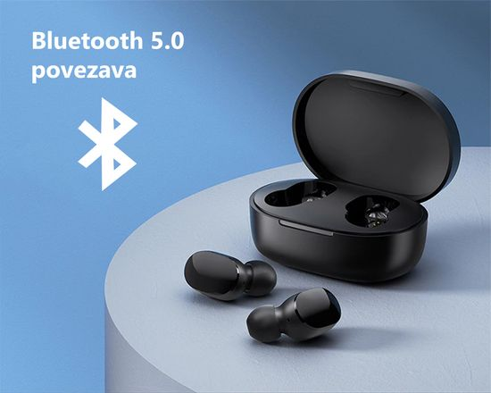 Xiaomi MI True Wireless Earbuds Basic 2S brezžične slušalke, črne