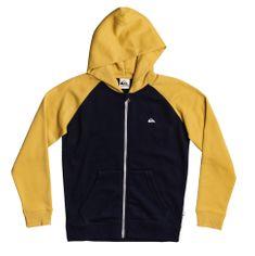 Quiksilver jakna za dječake Easy day zip Youth EQBFT03679-YHP0, S, crna