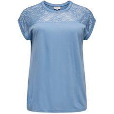 Only Carmakoma Ženska majica CARFLAKE 15197908 Allure (Velikost 3XL/4XL)