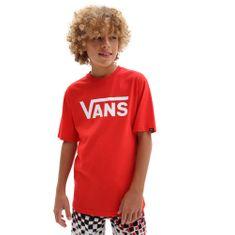 Vans chlapčenské tričko By Vans Classic Boys VN000IVFDS81, S, červená