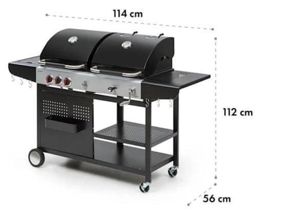 Klarstein Hot & Hot kombinirani roštilj
