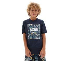 Vans chlapecké tričko By Print Box Kids VN0A3HWJZ531 4 tmavě modrá