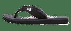 Quiksilver AQBL100429-XSGS Molokai layback youth fantovske japanke, črne, 39