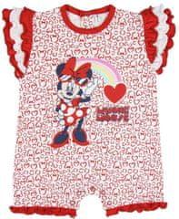 Disney dievčenské body Minnie 2200005146 62 červené