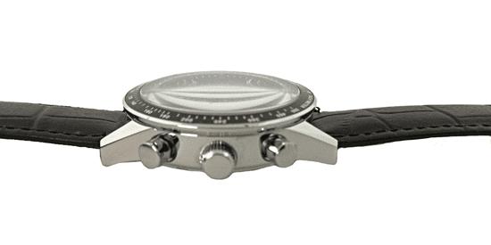 Slava Time Pánské automatické hodinky SLAVA s černým ciferníkem Barva: stříbrná, Velikost: UNI