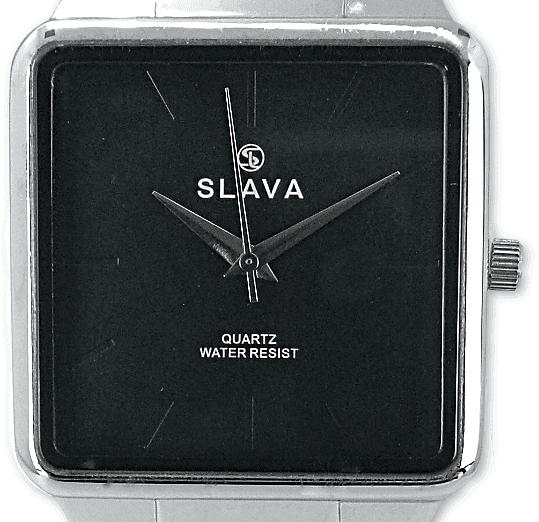 Slava Time Pánské nadčasové hodinky SLAVA Barva: černá, Velikost: UNI
