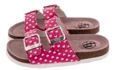 BF lány bőr papucs BA5251115, 32, rózsaszín