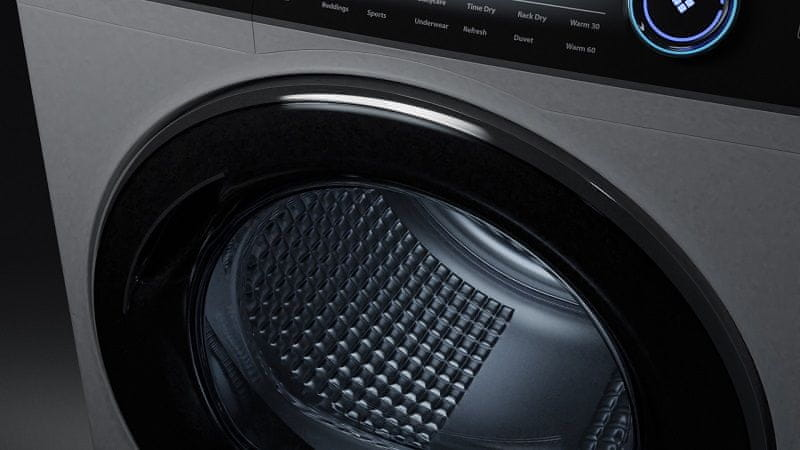 Pračka Haier HW80-B14979-S vnitřní osvětlení bubnu