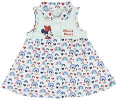 Disney dekliška obleka Minnie 2200005202, 92, večbarvna