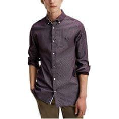 Tommy Hilfiger Pánska košeľa Slim Fit MW0MW15046-0G0 (Veľkosť S)