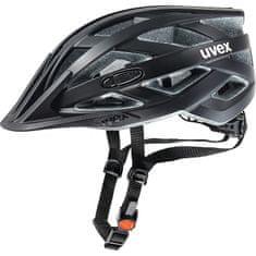 Uvex I-Vo CC čelada, mat črna, 52-57