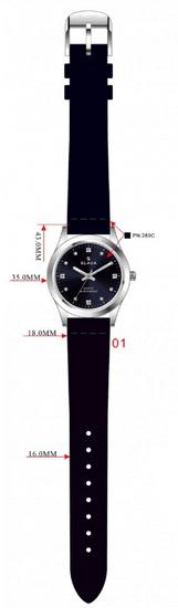 Slava Time Dámské zelené hodinky SLAVA s kamínky Barva: zelená, Velikost: UNI